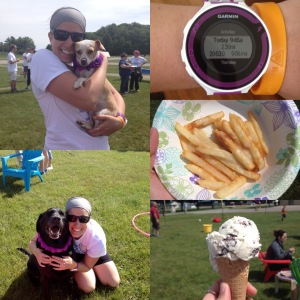 Martha's Run Collage