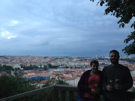 Prague View from Petrin