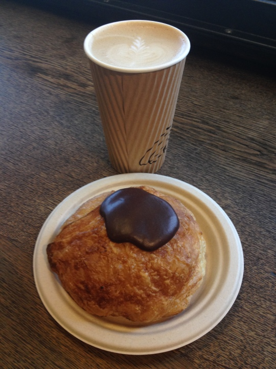 Latte and Pastry