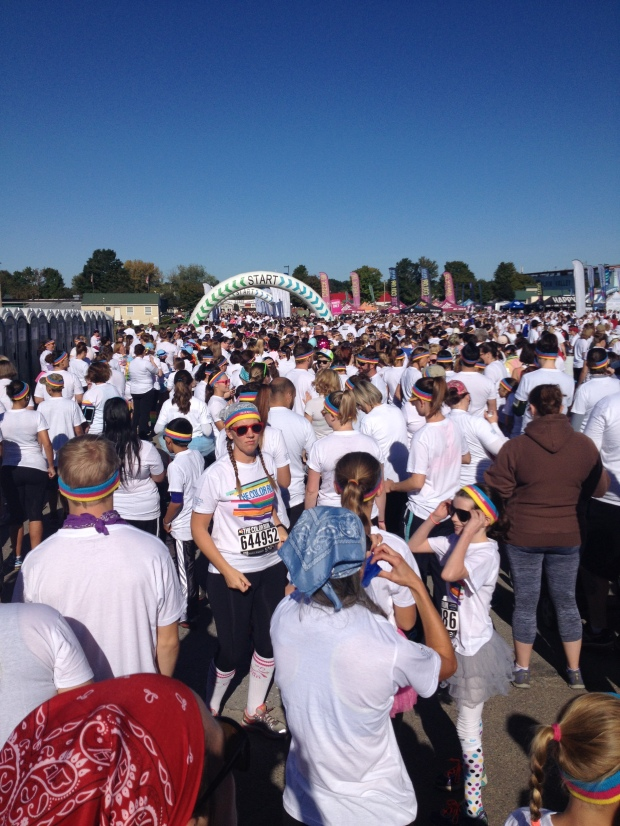 Color Run Start