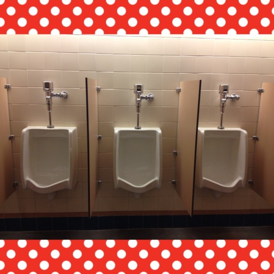 Disney-fied urinals
