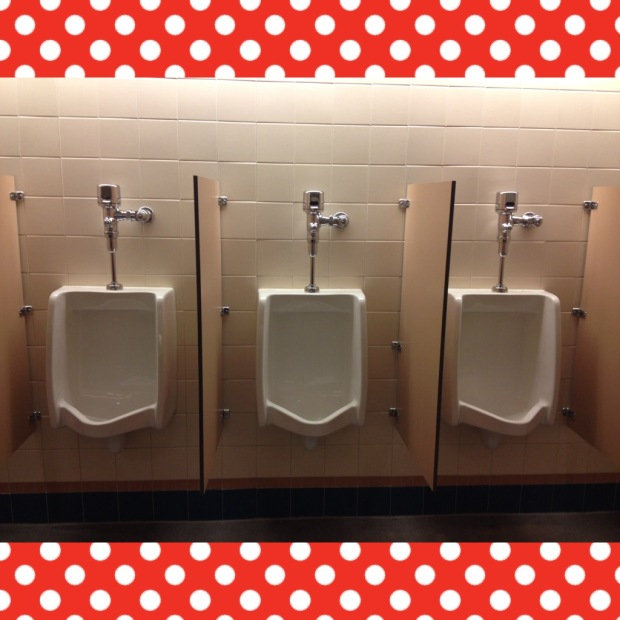 Disney-fied urinals