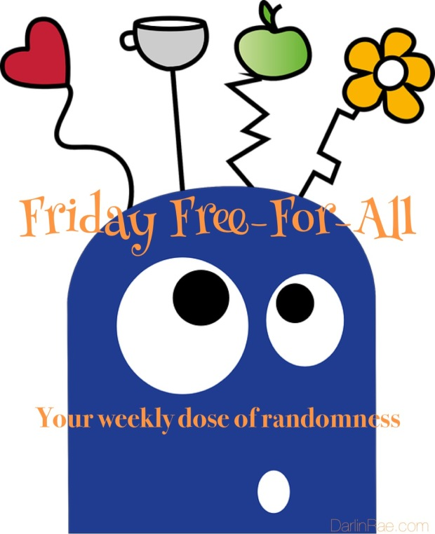 Friday Free-For-All